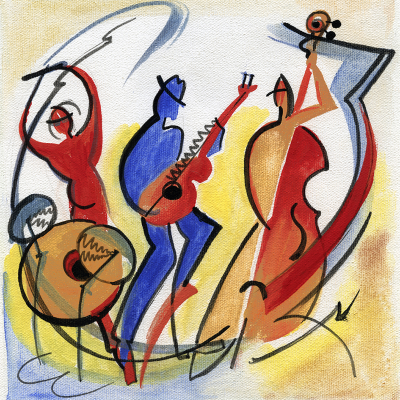 Classical Guitar and Jazz Piano