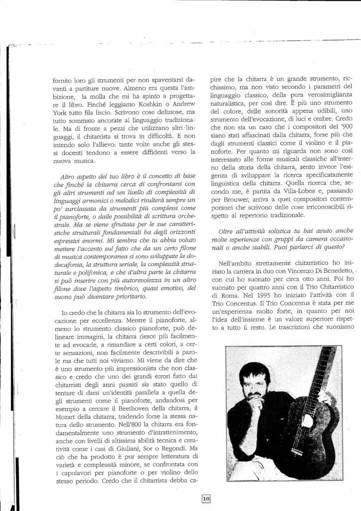 Intervista ad Arturo Tallini 4