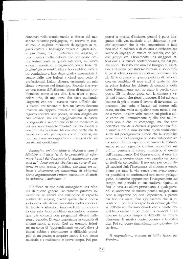Intervista ad Arturo Tallini 6
